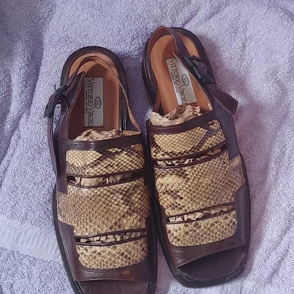 Vittorio Virgili mens sandals